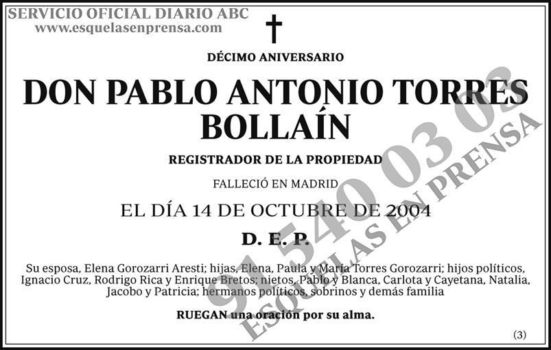 Pablo Antonio Torres Bollaín
